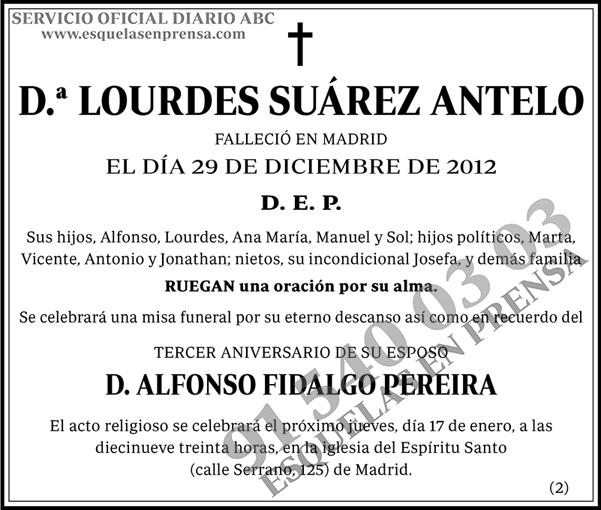 Lourdes Suárez Antelo
